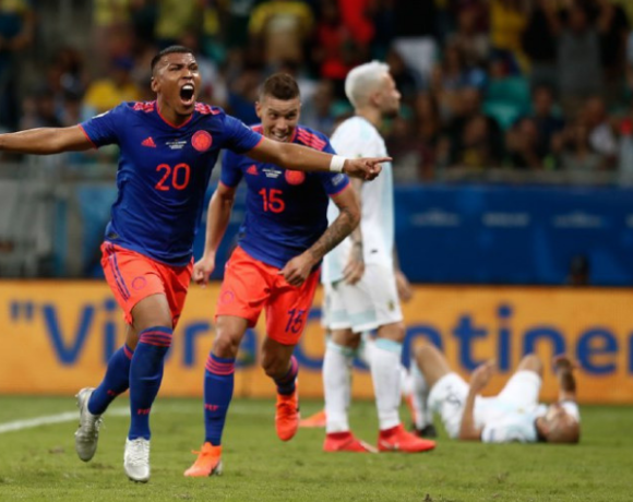 Colômbia e Argentina Copa América 2019