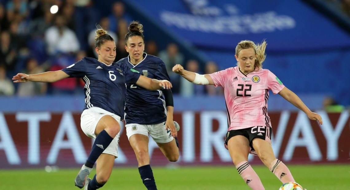 Escócia e Argentina Copa do Mundo de Futebol Feminino