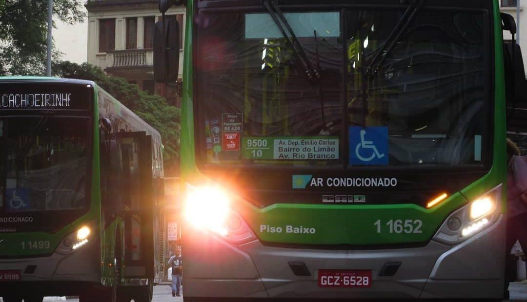 ônibus sem cobrador