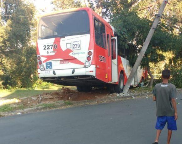 Acidente ônibus de Campinas