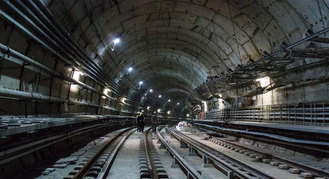 túnel do Metrô