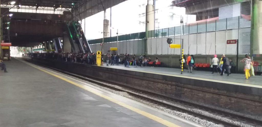 Estação Brás Linha 10