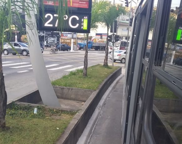 Corredor de ônibus M' Boi Mirim