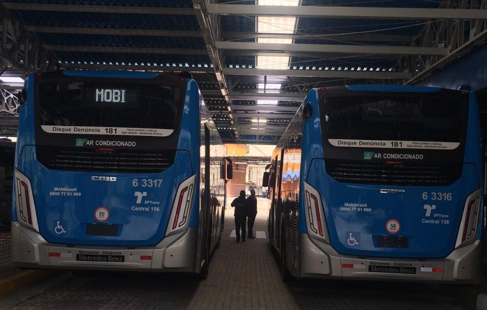 ônibus da Mobi
