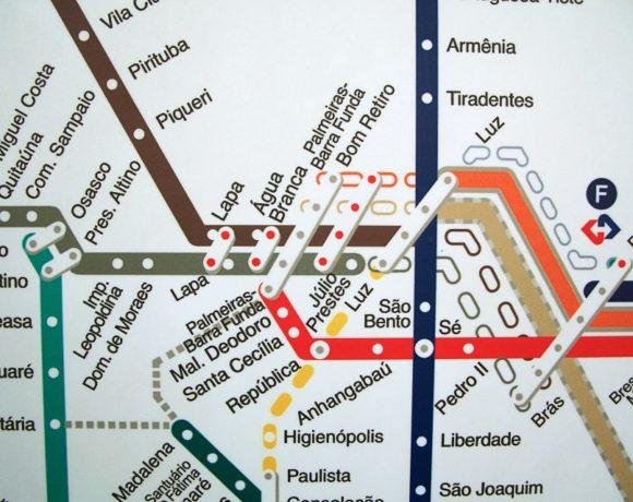 mapa desatualizado rede cptm estacao lapa