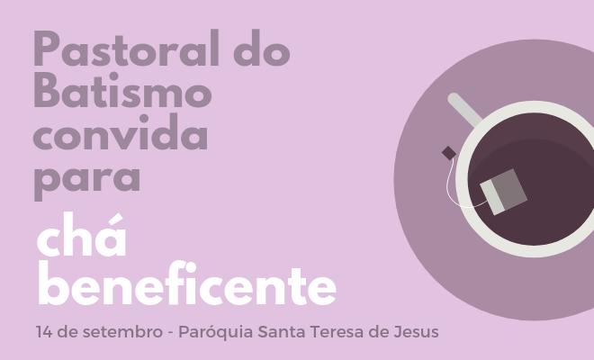 Pastoral do Batismo Chá
