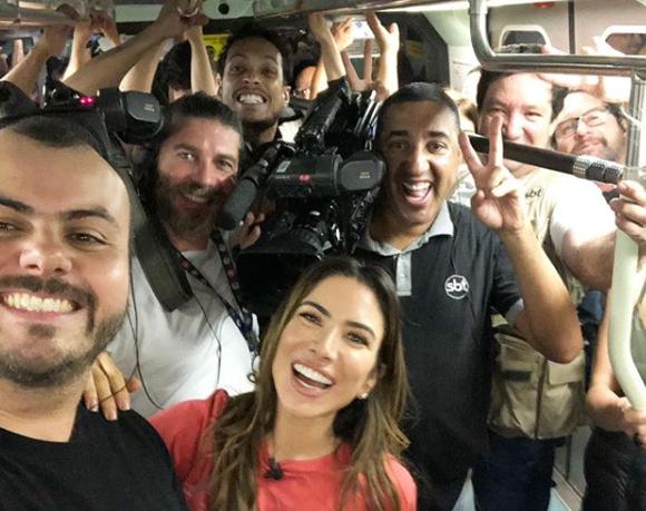 Filha do Silvio Santos no Metrô
