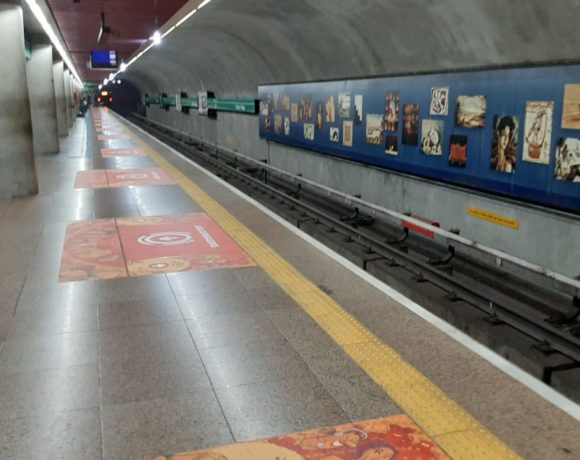 sinalização no Metrô