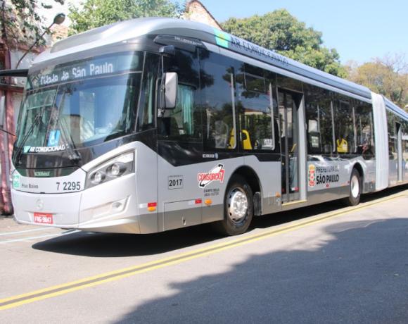 ônibus da viação Campo Belo