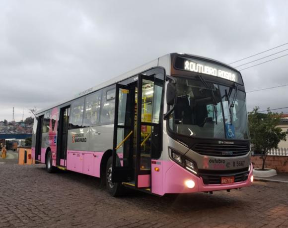 Ônibus rosa