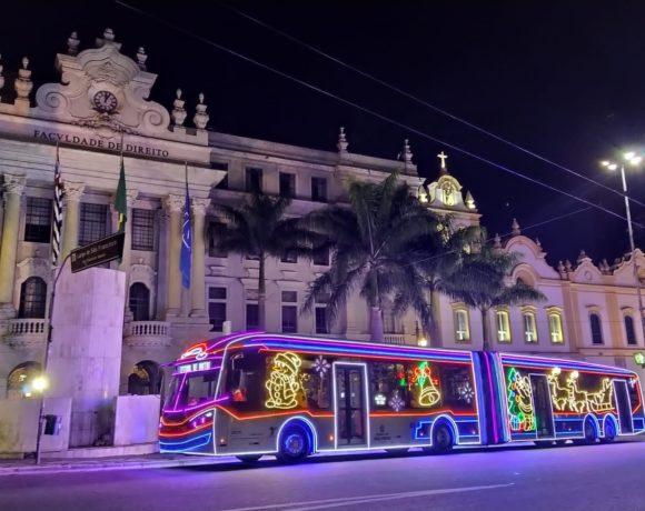 ônibus natalino