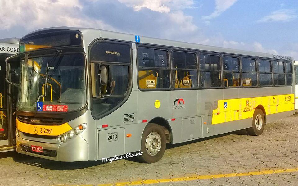 ônibus cidade de São Paulo
