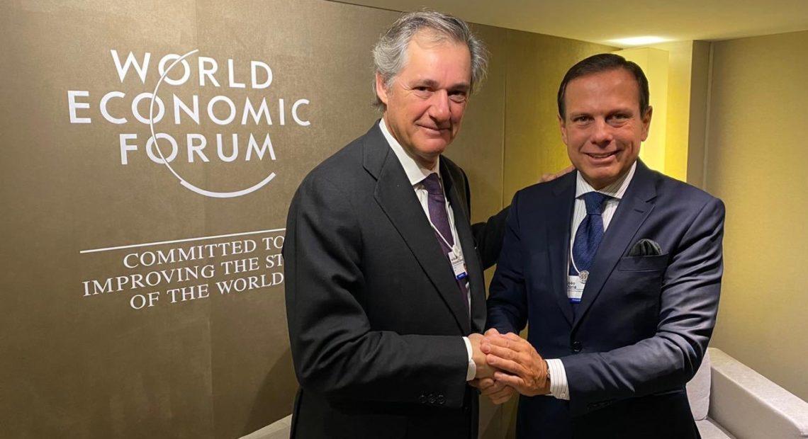 Doria em Davos fala da Linha 6-Laranja