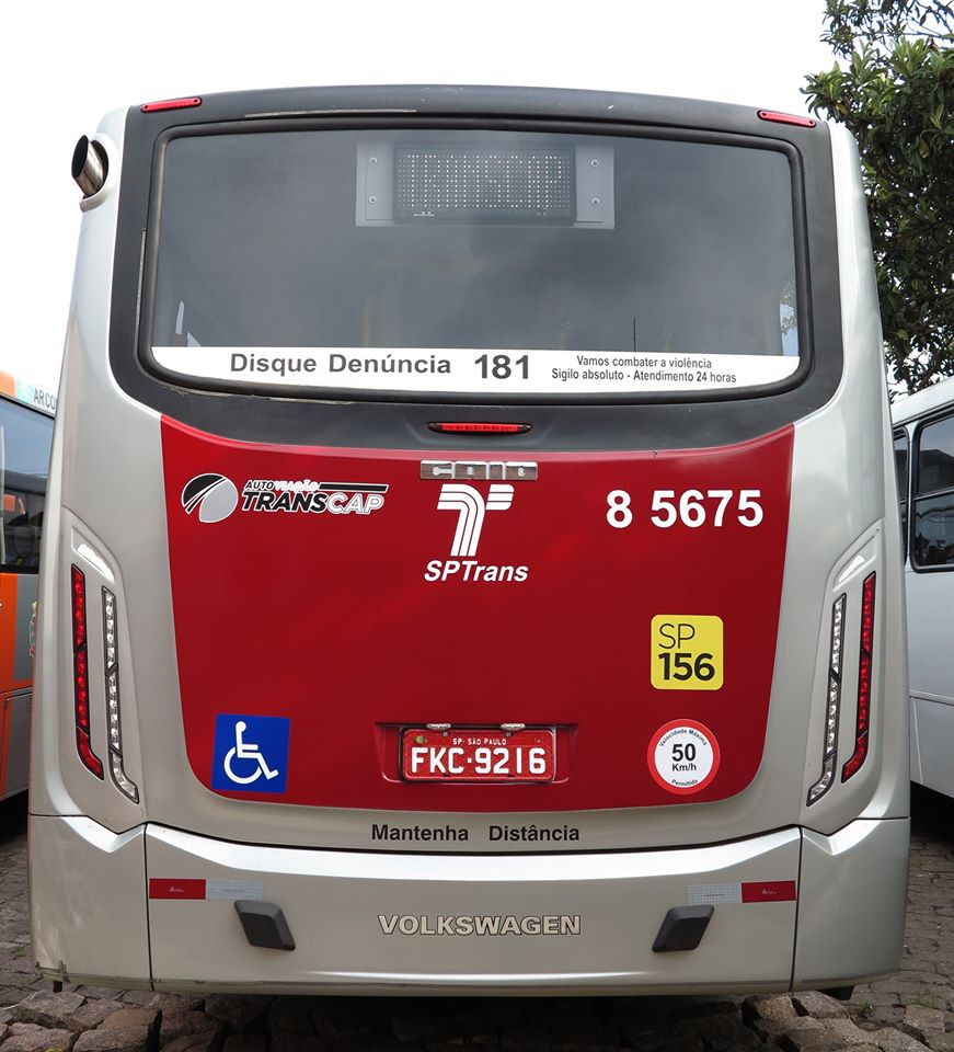 ônibus transcap