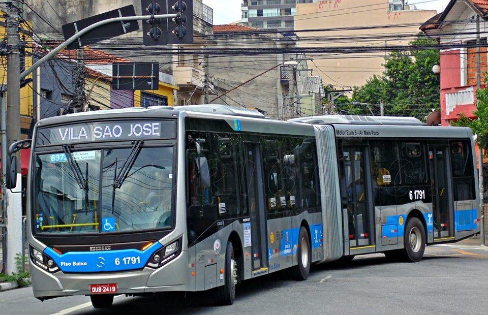 Ônibus da Viação Grajaú SPTrans
