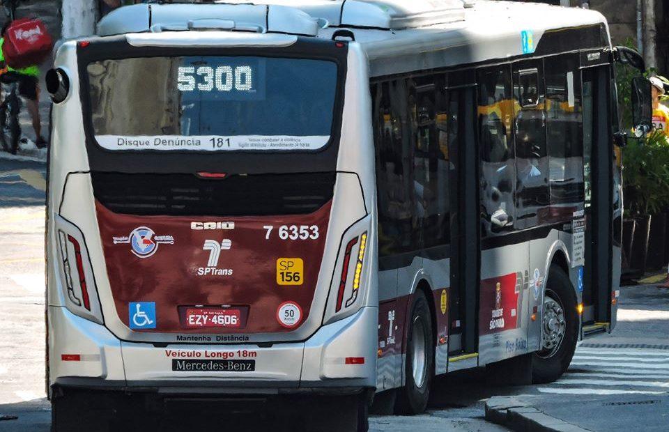 Ônibus da Gatusa SPTrans