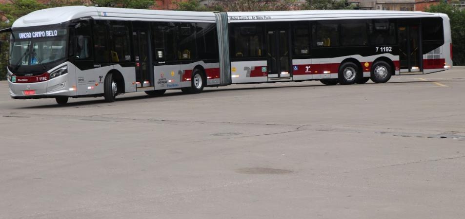 ônibus da Campo Belo