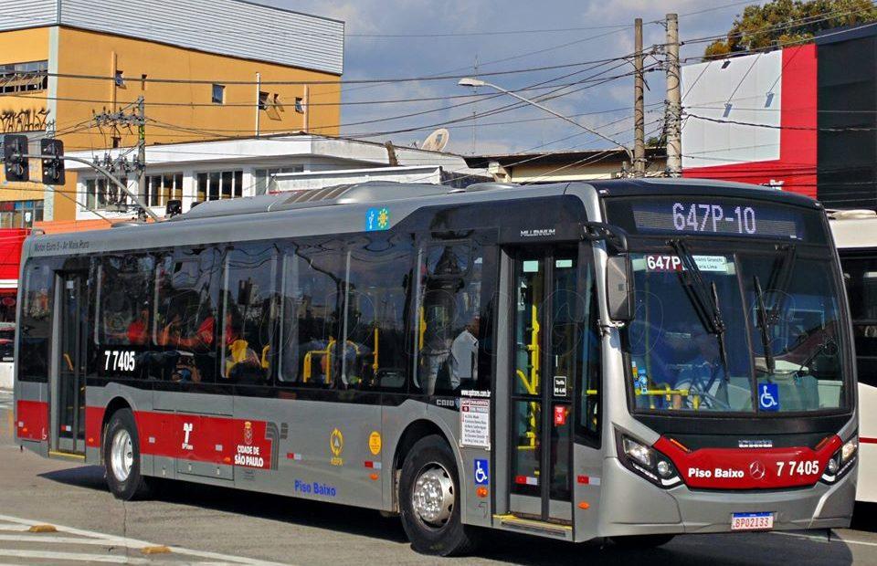 ônibus da SPTrans KBPX