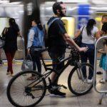 bicicleta no Metrô