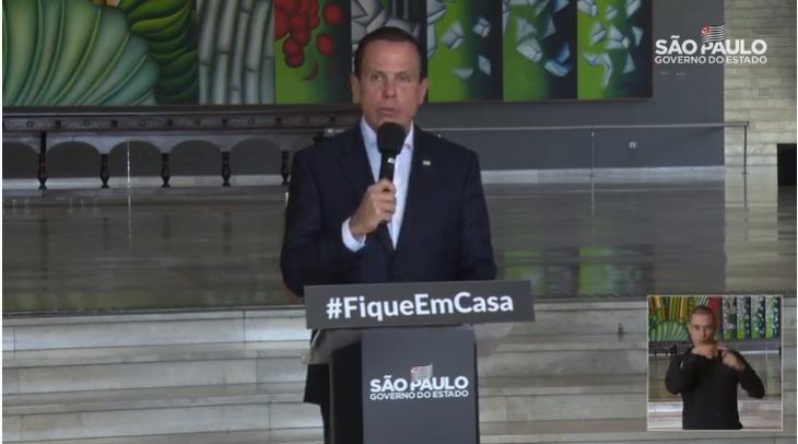 Governador João Doria