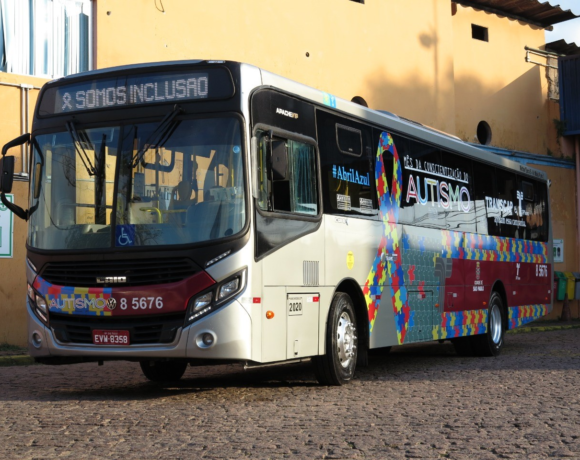 Ônibus de campanha da Transcap