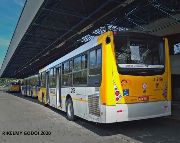 Ônibus da cidade de São Paulo