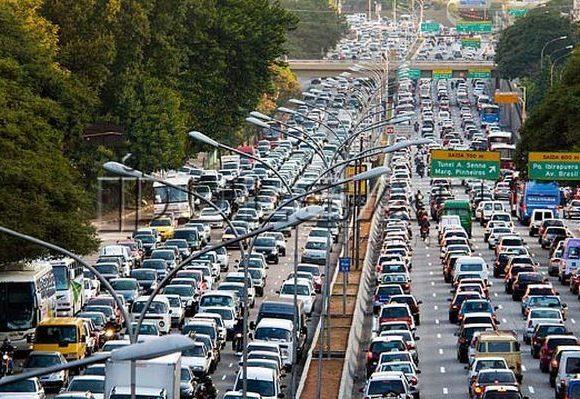 rodízio de carros em São Paulo