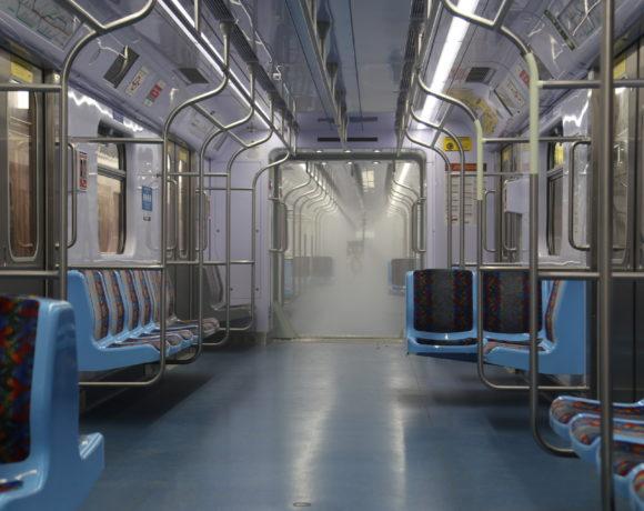 CPTM tem novo sistema de higienização de trens