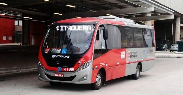Ônibus da Pêssego Transportes