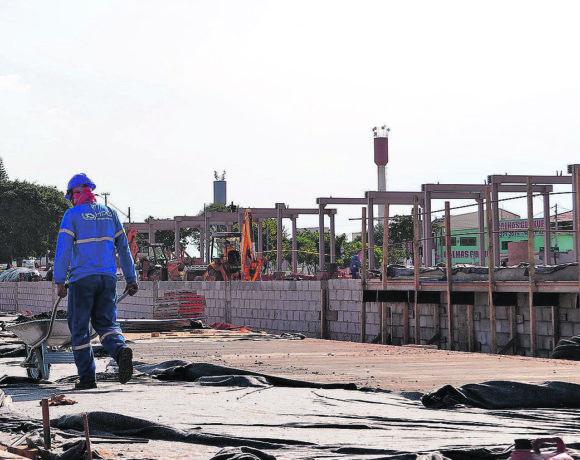 Obras do BRT de Campinas